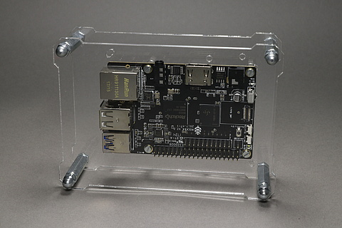 OpenDisplayCase with Rock64 Board