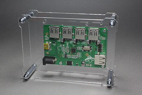 OpenDisplayCase with Raspiado USB 2.0