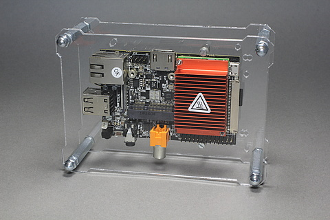 OpenDisplayCase with HummingBoard i2eX