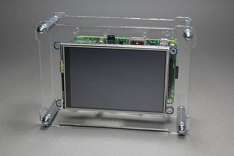 OpenDisplayCase with Raspberry Pi 2 and Adafruit PiTFT 3.5 inch