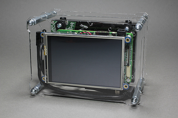UP Board Mediaplayer Box - OpenDisplayCase - Case