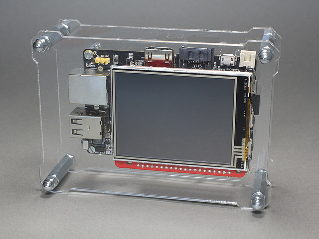 OpenDisplayCase - A case for several single-board computer and accessories
