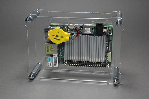 OpenDisplayCase with UP Board