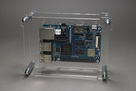 OpenDisplayCase with Banana PI M2 Berry